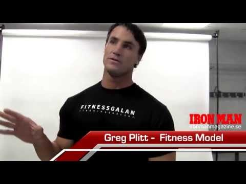 Greg Plitt interview - Iron Man Magazine Sweden