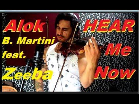 Alok Bruno Martini feat Zeeba - HEAR ME NOW  by Douglas Mendes Violin Cover