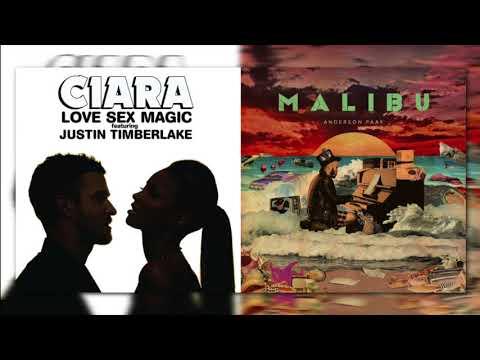 Ciara x Justin Timberlake vs. Anderson .Paak - Believe in Coming Down (Mashup)