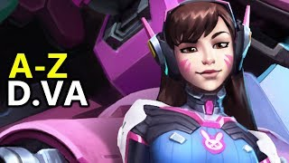 ♥ A - Z D.Va - Heroes of the Storm (HotS Gameplay)