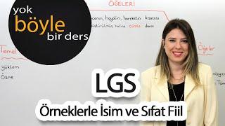 Teog - Türkçe - Örneklerle İsim ve Sıfat Fiil