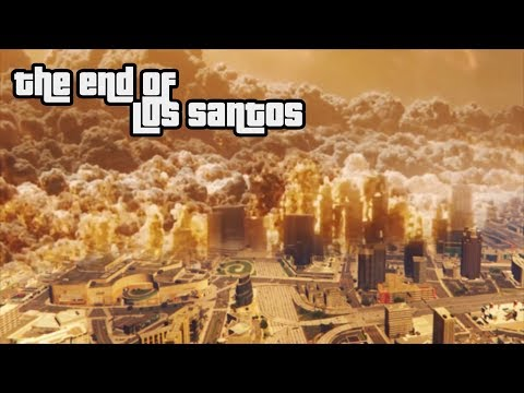 GTA - V: The end of los santos -  nuclear bomb [Rockstar editor movie]