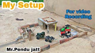 My Tractor model video recording setup vlog by Mr.pendu jatt