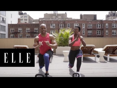 The Ultimate 3-Minute Thigh Workout | ELLE