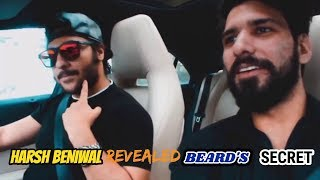 Harsh Beniwal Beard's Secret Revealed | Rohit Khatri Replied To Sahil Khan |