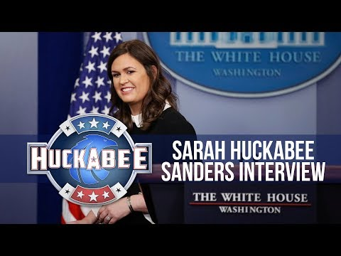 Exclusive Interview With SARAH HUCKABEE SANDERS | Huckabee