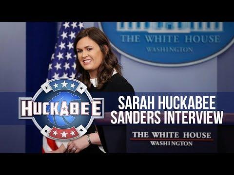 Exclusive Interview With SARAH HUCKABEE SANDERS | Huckabee