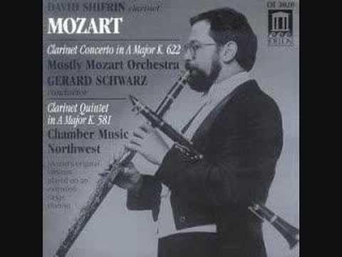 Mozart: Clarinet Concerto: II. Adagio     (Audio Only)