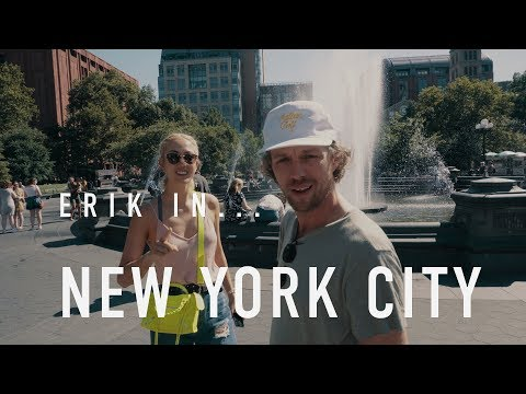 MICHELLE WIE and ERIK IN... NEW YORK CITY // GOLF DIGEST HQ