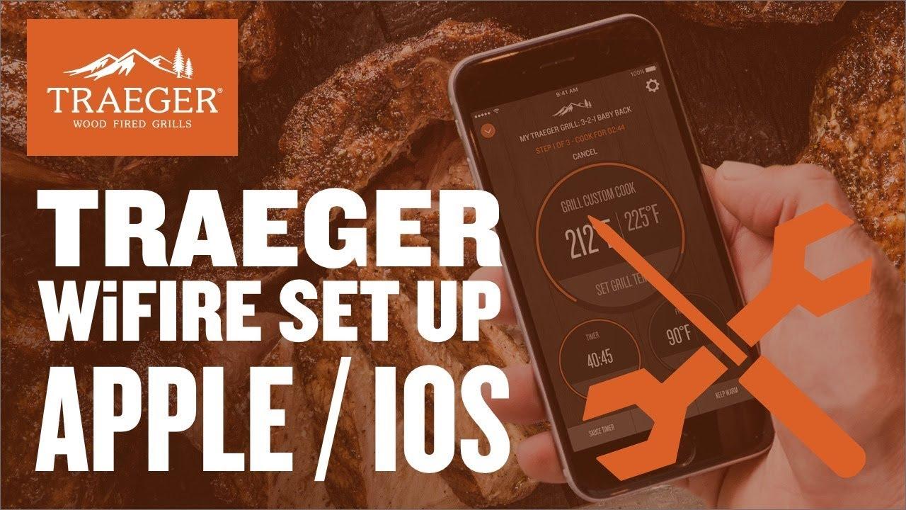 Traeger wifi upgrade