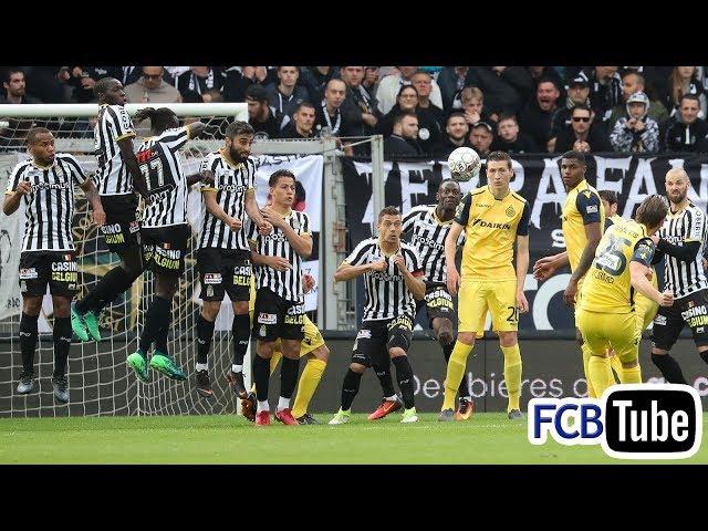 2017-2018 - Jupiler Pro League - PlayOff 1 - 08. SC Charleroi - Club Brugge 1-3