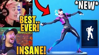 "Streamers React to the *NEW* ""INFECTIOUS"" Emote/Dance! 