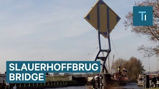 "This ""Flying Drawbridge"" Lifts And Lowers In A Unique Way"