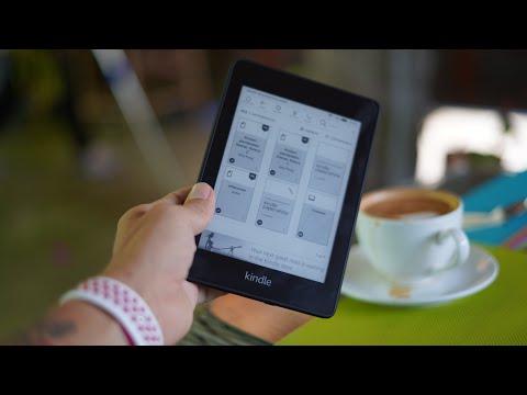 Электронная книга Kindle Paperwhite - как скачать книгу?
