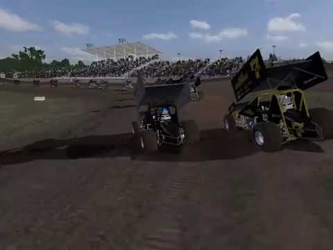 410 Sprint Cars at Silver Dollar Speedway (rFactor DWD)