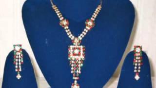 Stone Designer Bollywood Jewelry SET