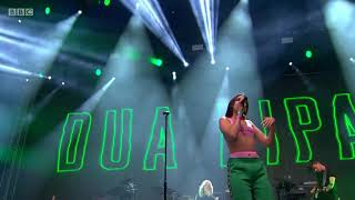 Dua Lipa - Scared to Be Lonely - Glastonbury - Remaster 2018
