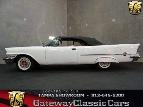 1957 Chrysler 300C Convertible Gateway Classic Cars Tampa #209