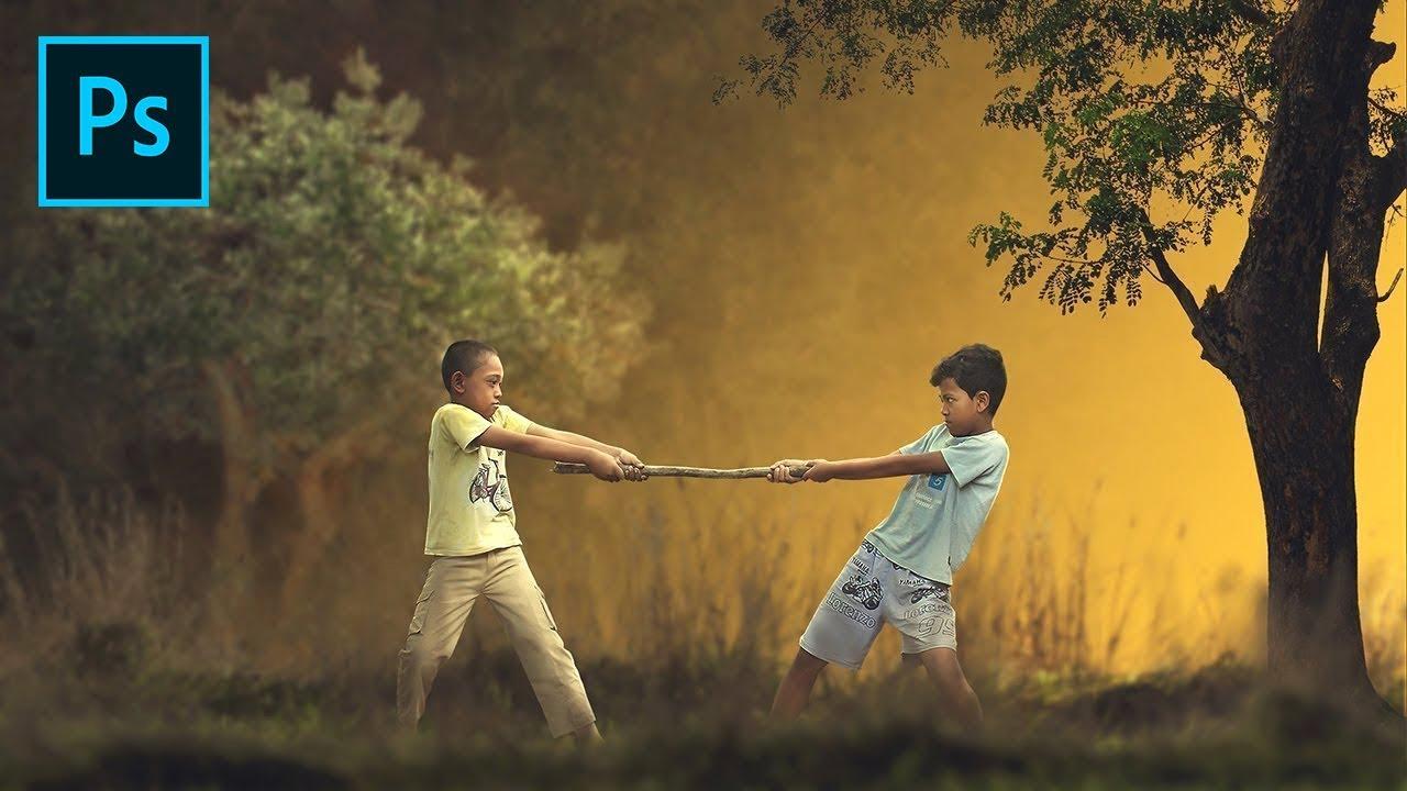 Photoshop Tutorial | How To Make Photo Manipulation Fine Art