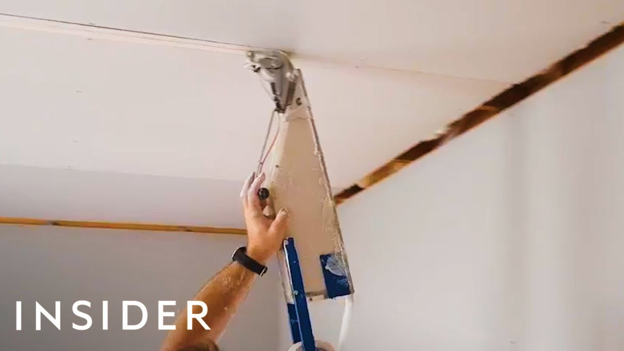 Tape Gun Applies Drywall Materials In Seconds Youtube