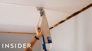 Tape Gun Applies Drywall Materials In Seconds