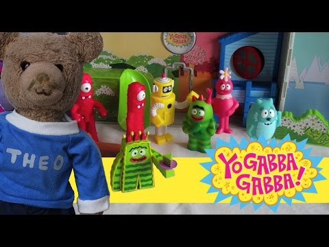Yo Gabba Gabba Toy Boom Box Playset