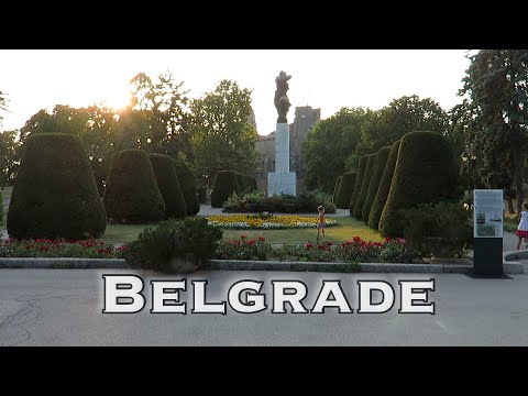 The Driving Vlog - City Break - Belgrade, Serbia part 2 - the parks and the green areas.
