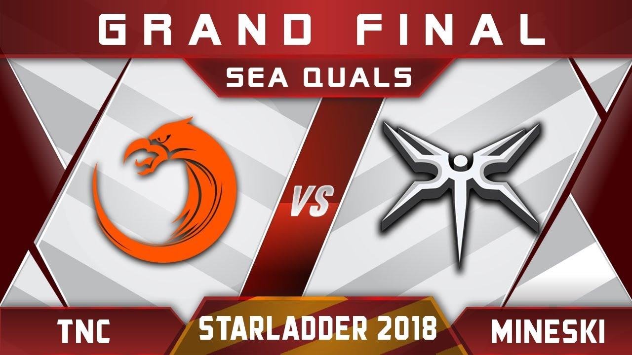TNC vs Mineski Grand Final Starladder 2018 SEA Highlights Dota 2