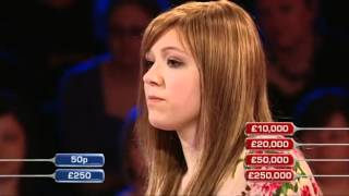 Deal or No Deal - Tegen's game, 4th £250,000 winner