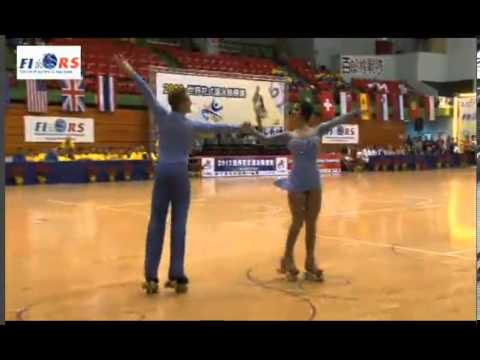 Jessica Gaudy Anthony Deluca -  World Class Dance 2013 World Roller Skating Championships