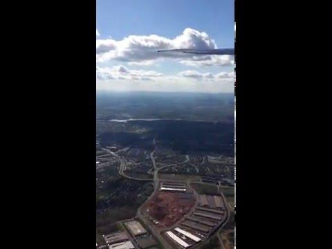 CA818 taking off @ Washington Dulles International Airport