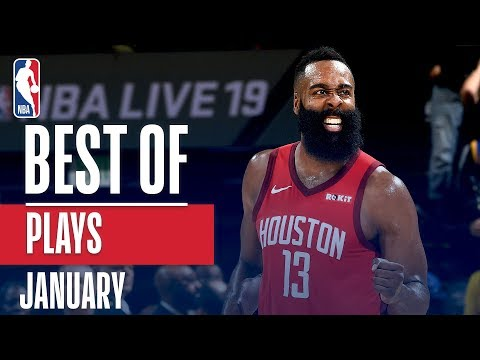NBAs Best Plays | January 2018-19 NBA Season