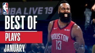 NBA\'s Best Plays | January 2018-19 NBA Season