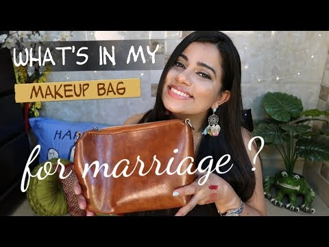 WHAT'S IN MY ( MARRIAGE ) MAKEUP BAG ? | Sana K