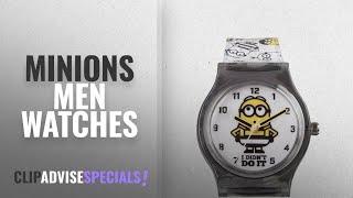 10 Best Selling Minions Men Watches [2018 ]: Minions Unisex-Child Watch MNS133