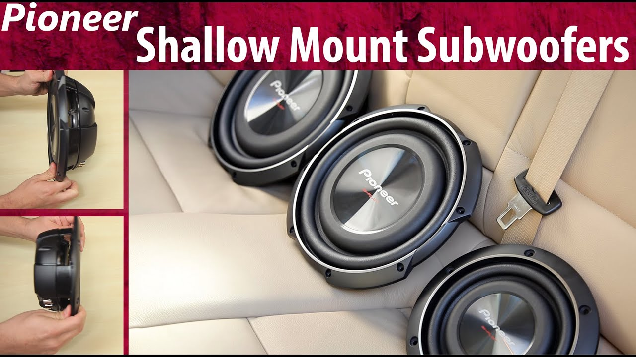 2015 Pioneer Shallow Mount Subwoofers Youtube 4 Ohm Subwoofer Wiring Diagram