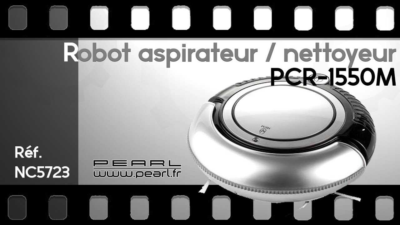 robot nettoyeur et aspirateur automatique pearltv fr youtube. Black Bedroom Furniture Sets. Home Design Ideas
