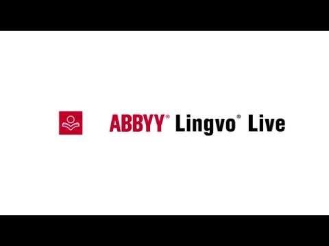 ABBYY Lingvo Live: помогаем понимать друг друга!