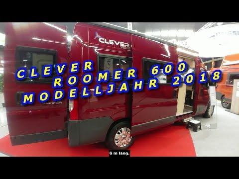 CLEVER ROOMER 600, MODELLJAHR 2018, KASTENWAGEN, SUISSE CARAVAN SALON