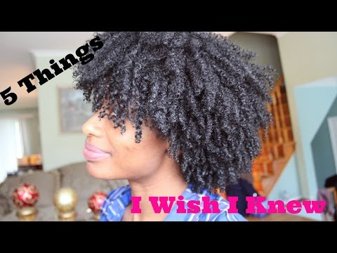 What I Wish I Knew Before Going Natural or Transitioning To Natural
