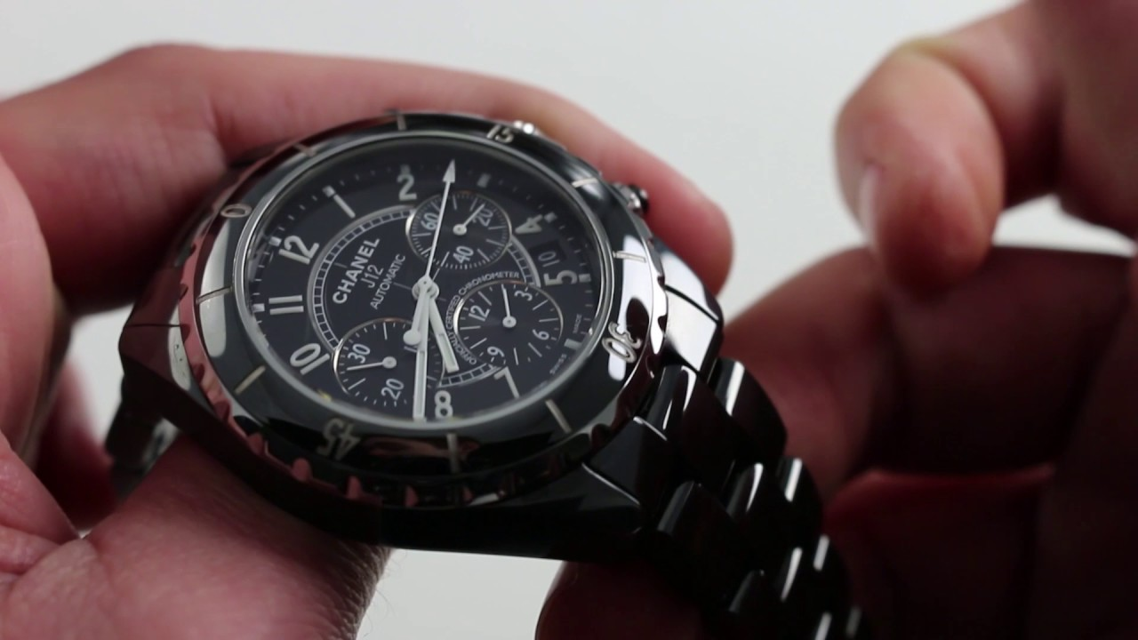 Download Chanel J-12 Chronograph Luxury Watch Review