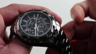 Chanel J-12 Chronograph Luxury Watch Review