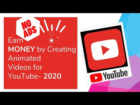 Earn Money By Creating Animated Videos For YouTube  2020 Learning Ninja