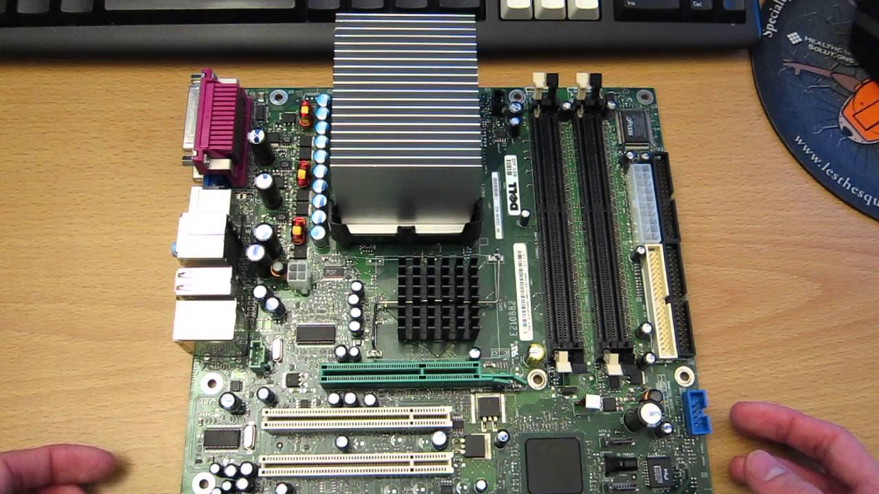 how to take the heatsink off the motherboard of a dell dimension rh youtube com Dell Dimension 8250 Dell Dimension 4100