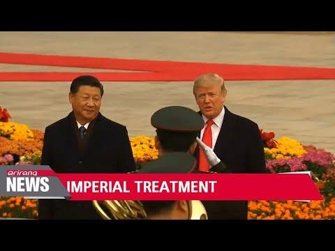 Trump receives 'royal treatment' in Beijing