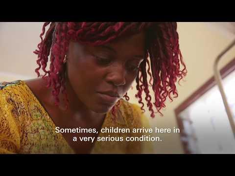 "Jacqueline Tchebemou: Saving CAR's ""Forgotten"" Malnourished Children"