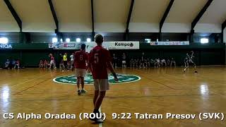 Handball. U17 boys. Sarius cup 2017. Tatran Presov (SVK) - CS Alpha Oradea (ROU) - 28:11 (2nd half)