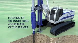 ENTECO New Patented SP-TT (Soil Displacement – Twin Tool)