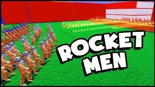 UNSTOPPABLE Rocketman Units! (Wooden Battles Gameplay)