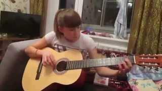 Мелодия из к/ф сумерки на гитаре